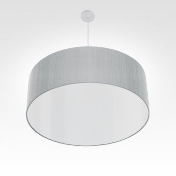 pendant lamp dining room silver gray