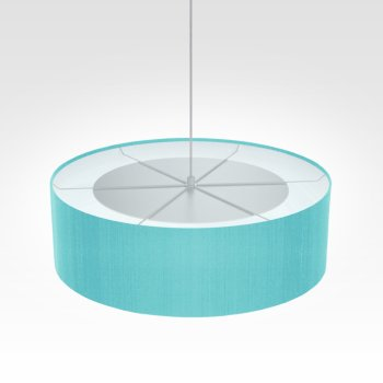 lamp shade turquoise