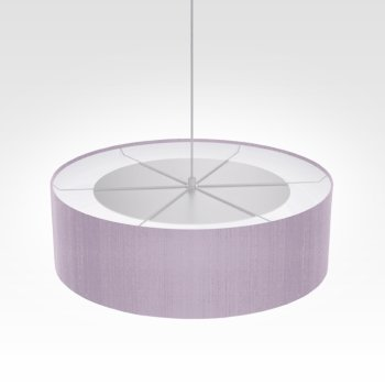 Suspension luminaire violet