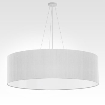 grande suspension blanche
