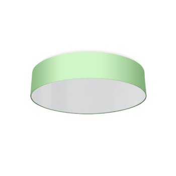 round ceiling light living room mint