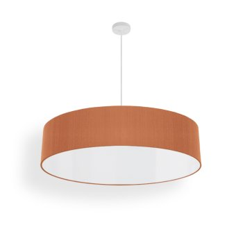 modern living room lamp silk beige red