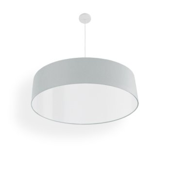 narrow pendant light silver