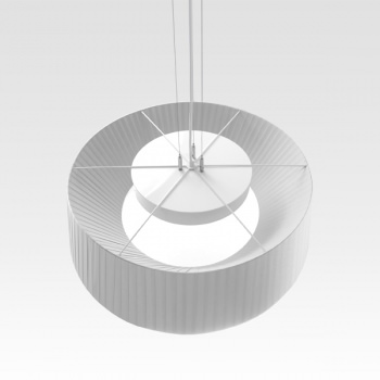 Design pleated lamp white