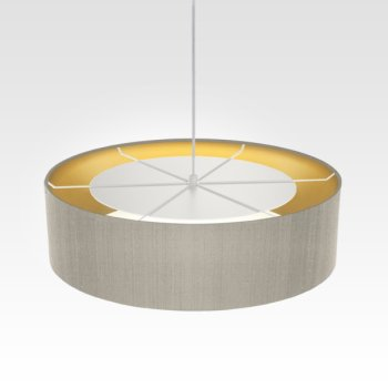 hanging light inside gold beige for living room
