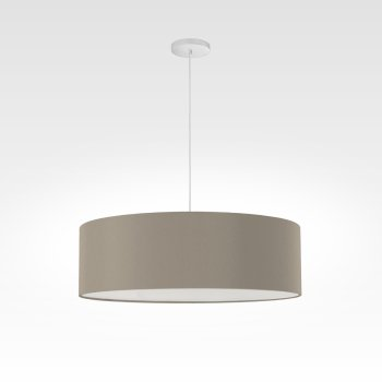 Design lamp LED beige gray