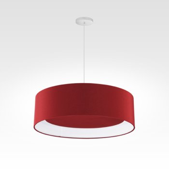 Suspensions Design LED rouge