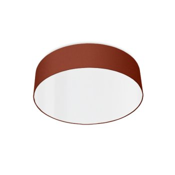 modern ceiling light led rouille rouge