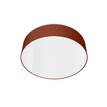 led ceiling luminaire rouille rouge