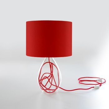 lampes de table rouge