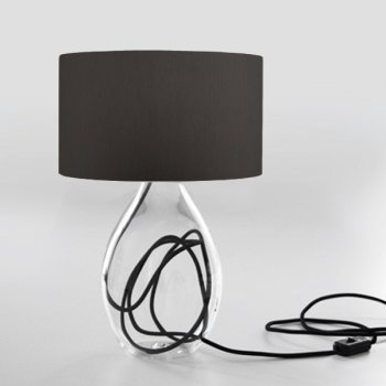 table lamp red gray