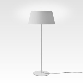 Stehlampe weiss