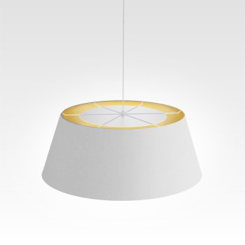 Living room lamp dimmable gold