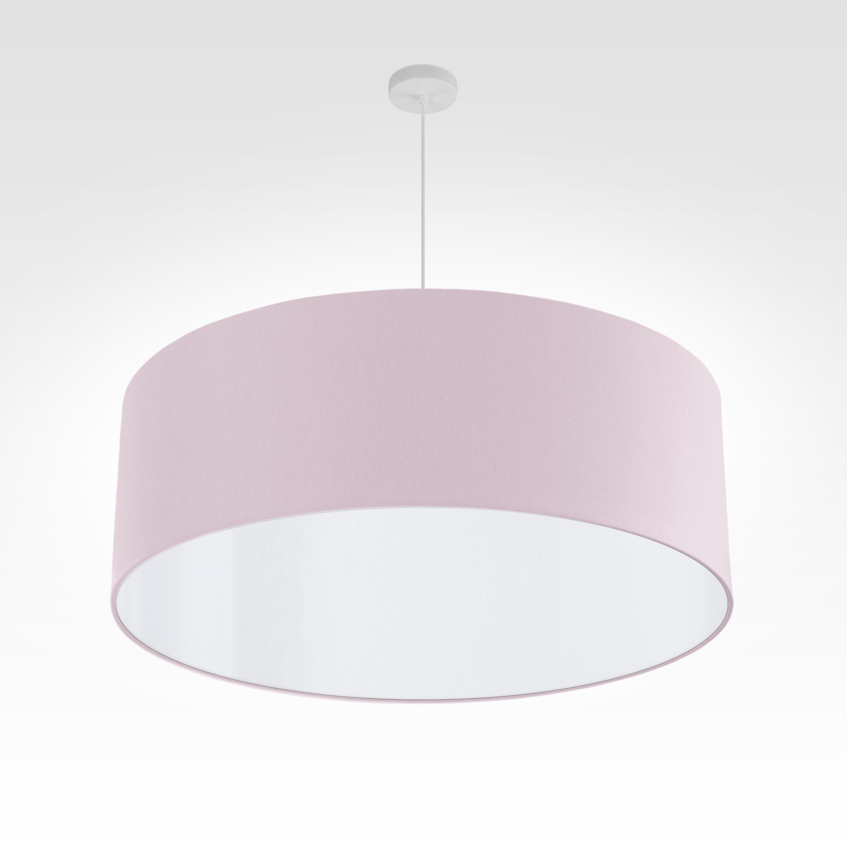 pendelleuchte lampenschirm stoff rosa. Black Bedroom Furniture Sets. Home Design Ideas