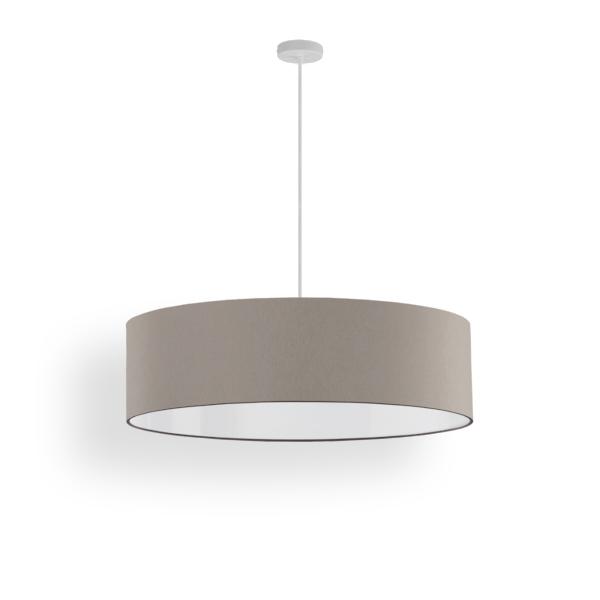 lampenschirm slim stoff 50 cm. Black Bedroom Furniture Sets. Home Design Ideas
