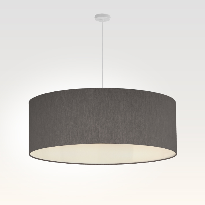 pendelleuchte lampenschirm stoff schwarz. Black Bedroom Furniture Sets. Home Design Ideas
