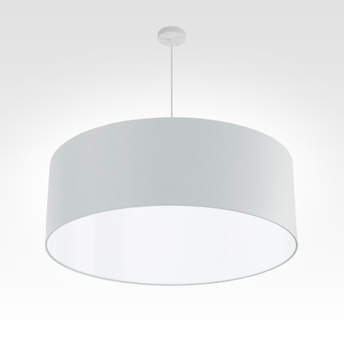 pendelleuchte lampenschirm stoff silber. Black Bedroom Furniture Sets. Home Design Ideas