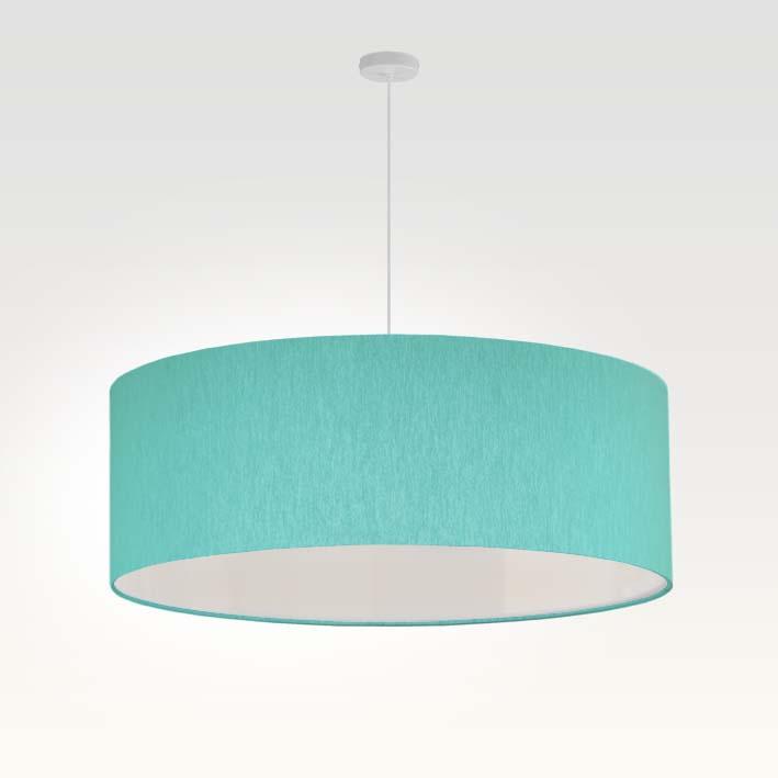 pendelleuchte lampenschirm stoff t rkis. Black Bedroom Furniture Sets. Home Design Ideas