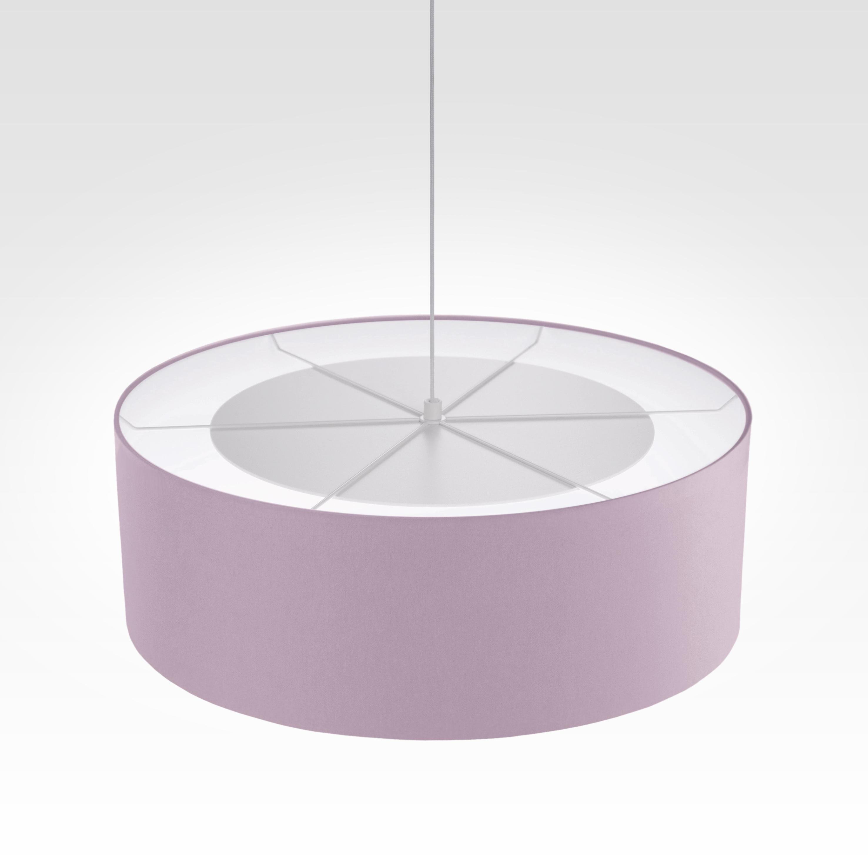 pendelleuchte lampenschirm stoff violett. Black Bedroom Furniture Sets. Home Design Ideas