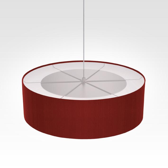 Rouge Salon Pour Lampe FoncéPendentif Chambre Et Suspension 08nOkPw