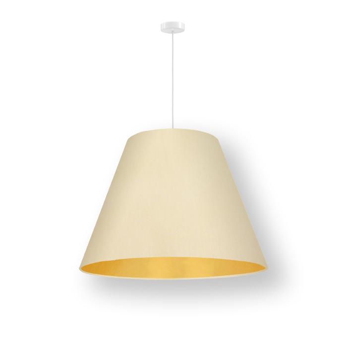 konischer lampenschirm innen gold pendelleuchte conica 50. Black Bedroom Furniture Sets. Home Design Ideas