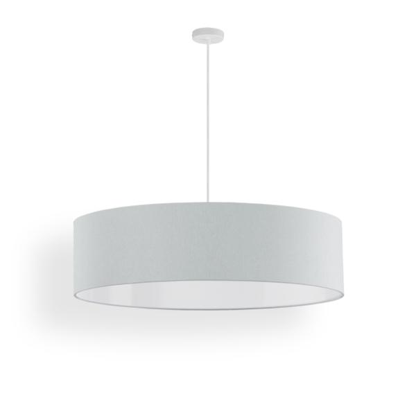 lampenschirm slim stoff 60 cm. Black Bedroom Furniture Sets. Home Design Ideas