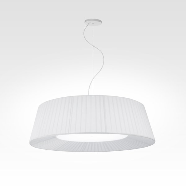 Design lamp pleated white