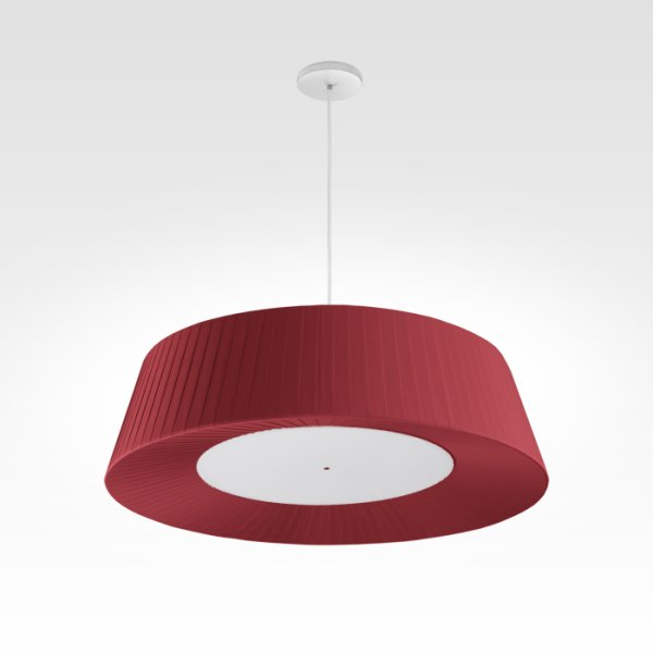 design pendant light living room led red