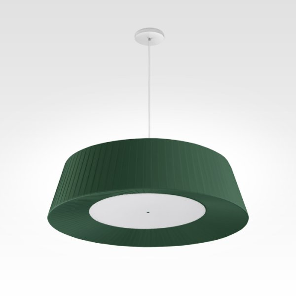design pendant light living room led green