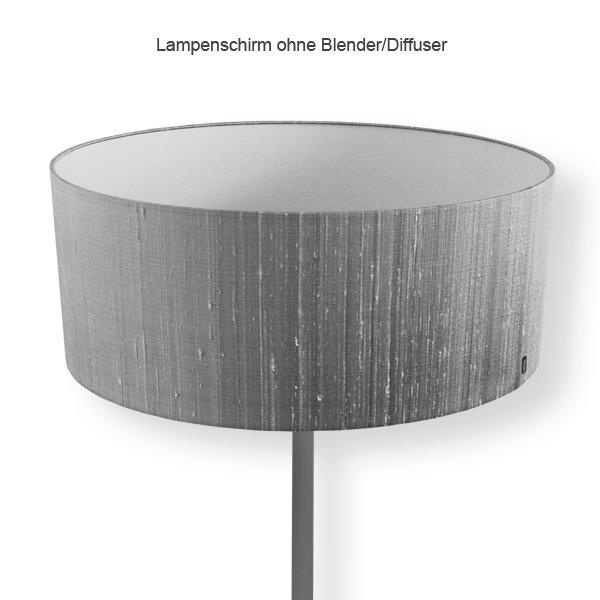 stehlampe bunt lampenschirm stehleuchte grau. Black Bedroom Furniture Sets. Home Design Ideas