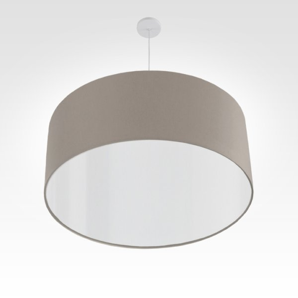 led lampshade beige gray