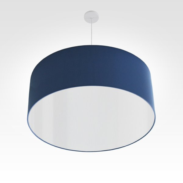 Lampe à suspension bleu