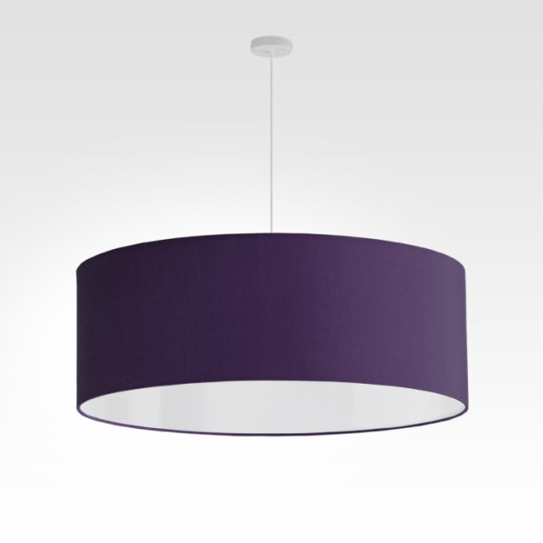 lamp shade darkpurple