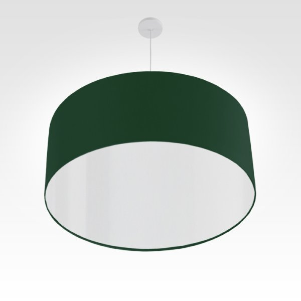 led lampshade dark green