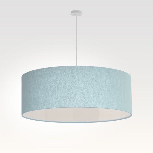 lamp shade light blue