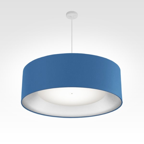 lamp shade silver-fabric ø 70