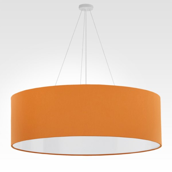 pendant light orange diameter 90