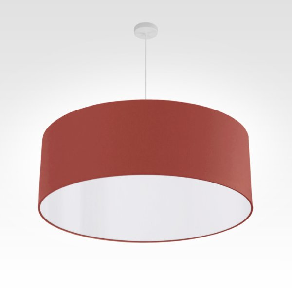 pendant lamp rust-colored