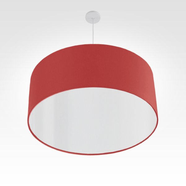 Lampe à suspension rouge