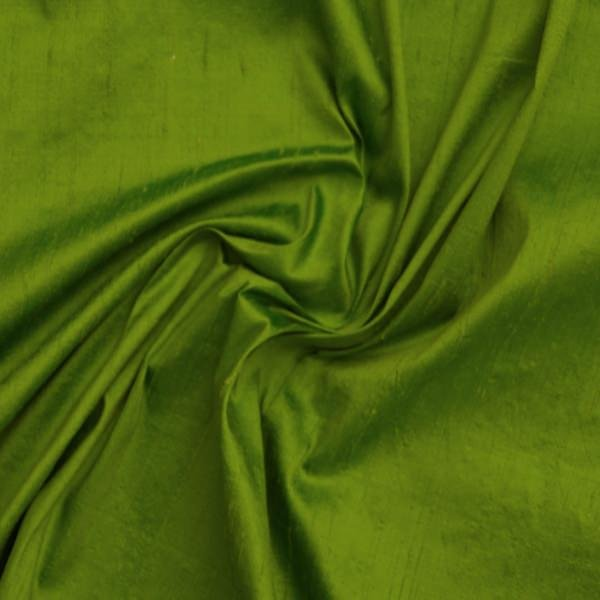 Dupioni silk green