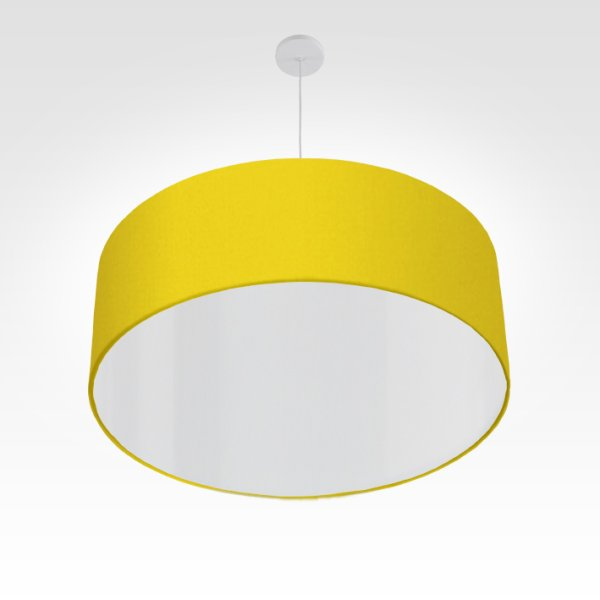 Lampe à suspension jaune