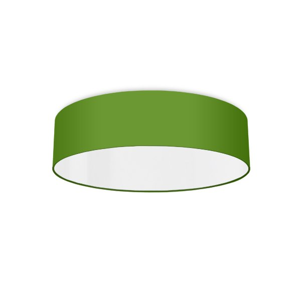 Ceiling luminaire apple green