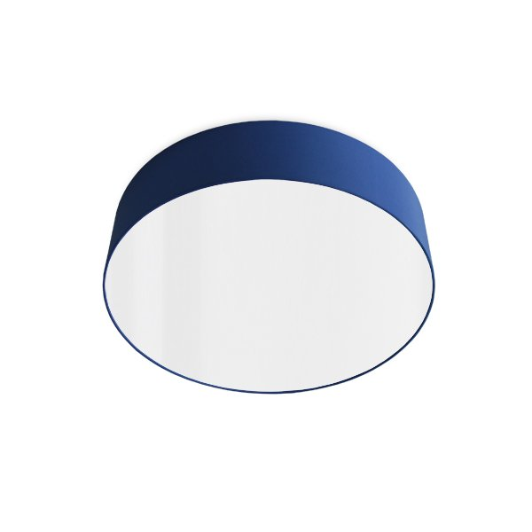 led ceiling luminaire blue