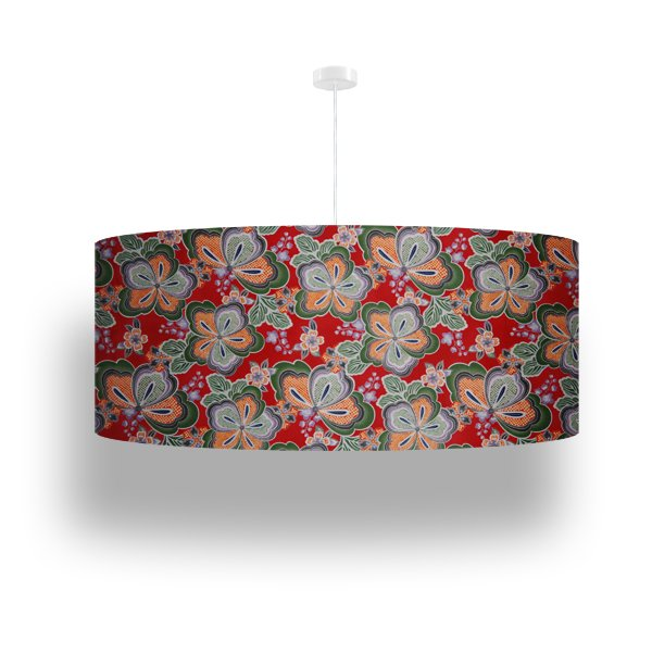 pendant lamp flowers