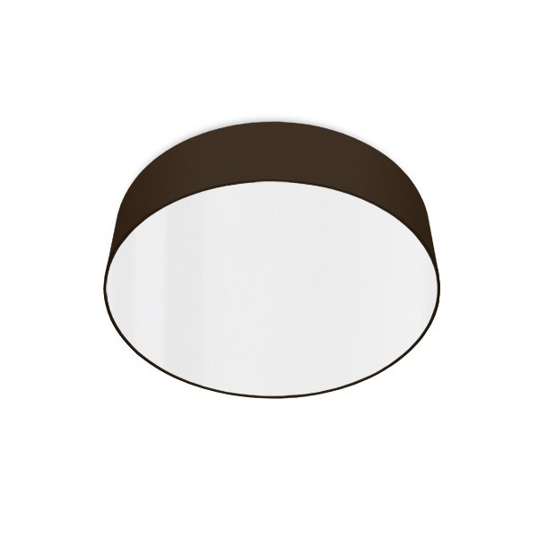 led ceiling luminaire brown
