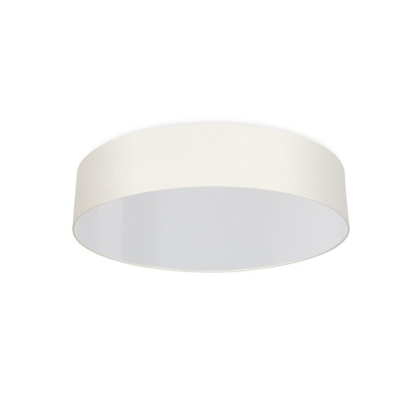 round ceiling light living room cream