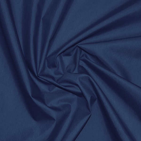 Chintz fabric dark blue