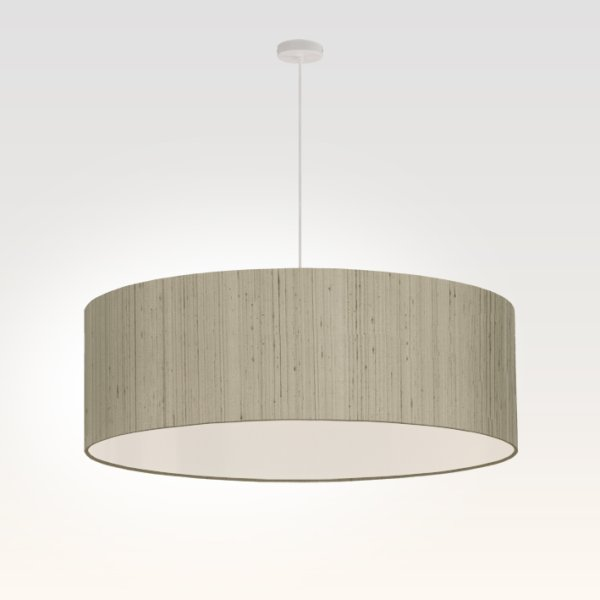 suspension pour salon gris beige