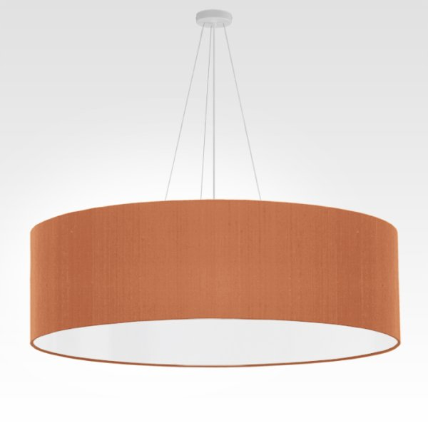 large pendant lamp beige red