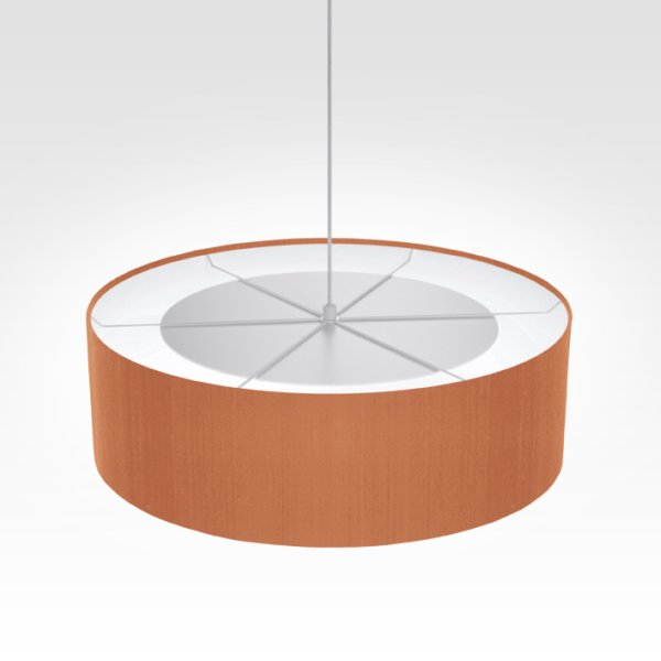 lamp shade beige red